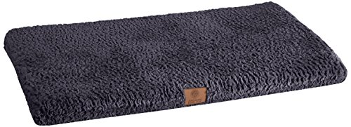 American Kennel Club Orthopedic Crate Mat, 42 by 27-Inch, Navy