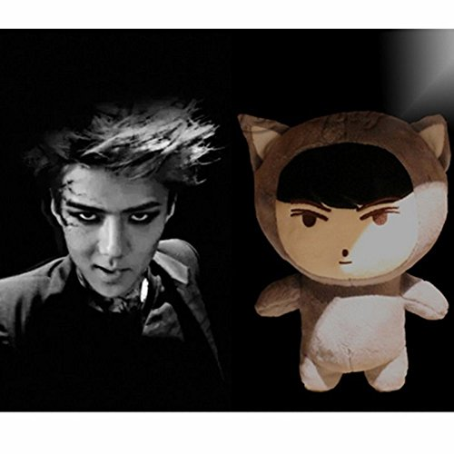 Kpop EXO XOXO Planet#2 Plush Toy Chanyeol Chen Kai Suho Sehun DO BaekHyun Dolls