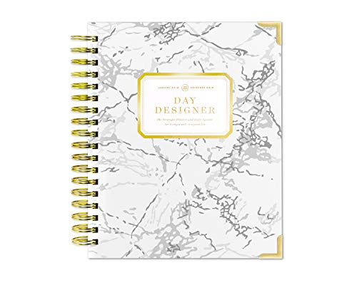 Original Daily Day Planner - Day Designer Daily Planner 2019 | Original Flagship | Best Day Planner | Goal Setting | Time Management | Productivity | 9