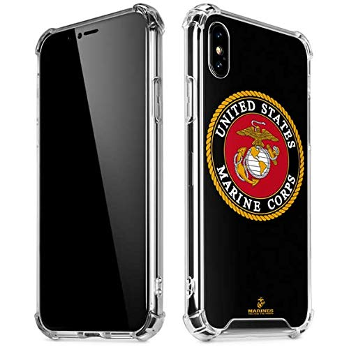 Amazoncom Skinit Black Full Us Marine Corps Iphone Xxs Clear Case