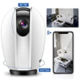IP Camera Wireless Indoor,IP Camera WiFi 1080P Outdoor Shaking Head Monitor WiFi Wireless
