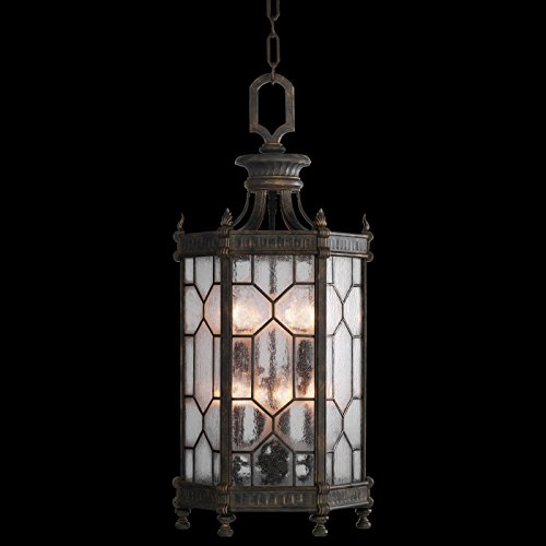 Devonshire Ceiling Fixtures (Fine Art Lamps 414282, Devonshire Outdoor Ceiling Lighting, 480 Total Watts, Bronze)