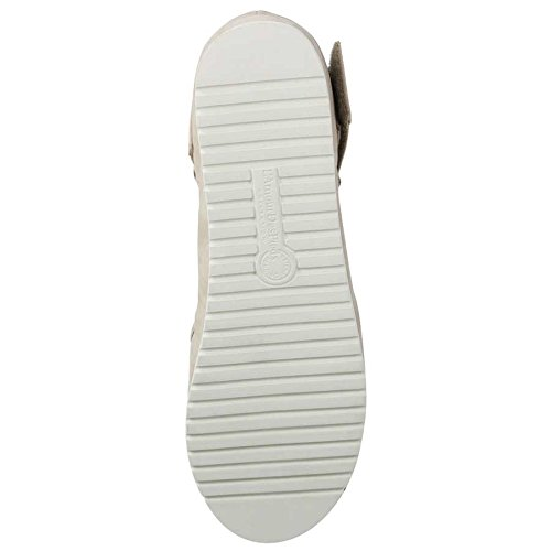 Sandalo Amadour Beige In Pelle Scamosciata