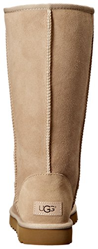 UGG Australia Womens Classic Tall LL Sheepskin twinsole and Suede Boots Braun
