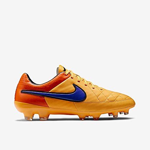 Nike legacy fG chaussures de football tiempo laser prsn orange/violet-total v f858 orange-taille 39