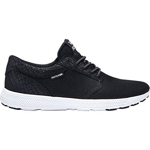 Supra Womens Hammer Run Black White Shoes Size 8