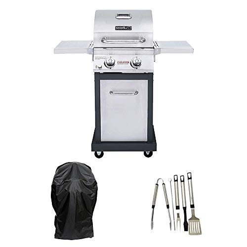 Nexgrill Evolution 2-Burner Propane Gas Grill in Stainless...