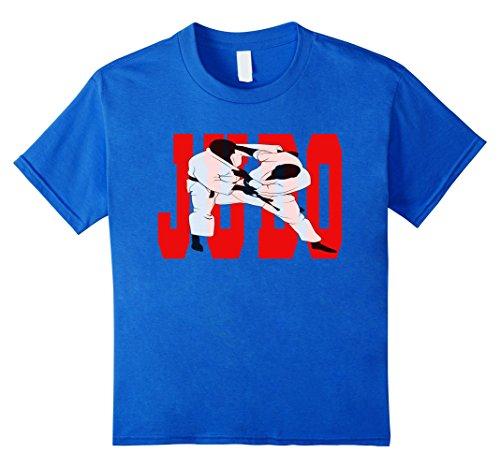 Kids Judo T-Shirt MMA Jiu Jitsu Martial Arts Graphic Tee ...