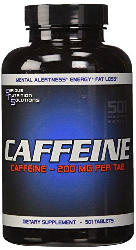 Serious Nutrition Solution Caffeine Tablets, 501 Count