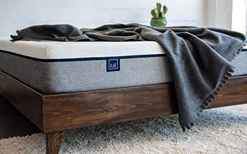 Lull Platform Bed Frame - Slatted Base - Pine Wood - Easy to Assemble (Twin XL)