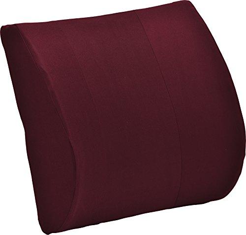 NOVA Medical Products Lumbar Back Cushion, Maroon, 1.25 (Drive Red Wedges)