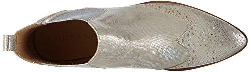 Java Metallic 4 amp; Chelsea Silver Elast Argent Silver Femme Jessy Bottes Melvin Ls Hamilton d8ZqfKSwTT