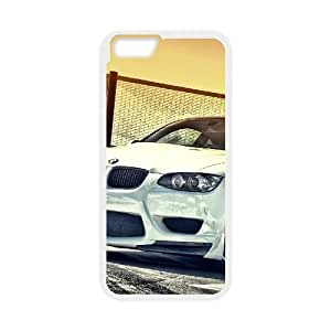 White Bmw M3 Iphone 6 Plus 5.5 Inch Cell Phone Case White GY033435