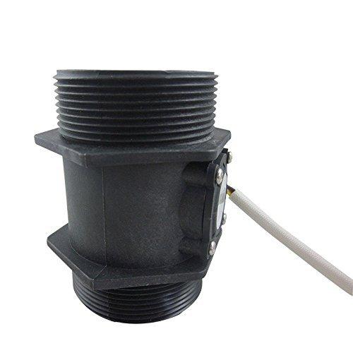 DIGITEN G 2'' 2 inch Flow Water Sensor Meter+LCD Display Controller 10-200L/min+24V Power by DIGITEN (Image #4)