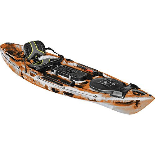 Ocean Kayak Trident 11 Angler - Orange Camo