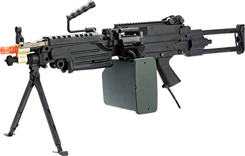 Evike A&K Full Metal M249 Airsoft Machine Gun