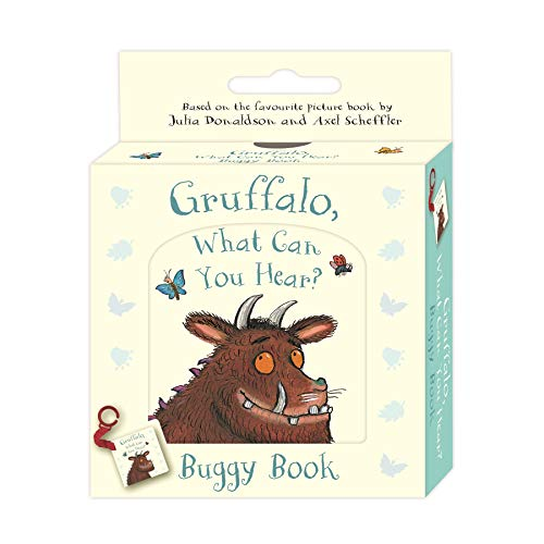 Gruffalo, What Can You Hear?: Buggy Book (Gruffalo Baby)
