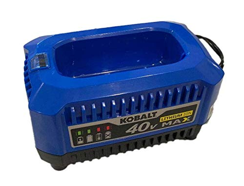 (Kobalt 40-Volt Lithium Ion (Li-Ion) Generation 2 Compact Cordless Power Equipment Battery Charger with New Top Load Design, 2019 Model)
