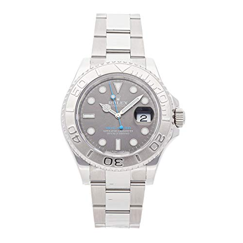 - Rolex Yacht-Master Mechanical (Automatic) Rhodium Dial Mens Watch 116622 (Certified Pre-Owned)