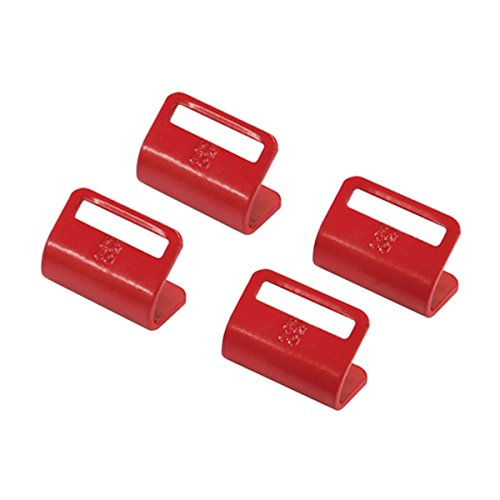 SportRack Car top Carriers Mounting Hooks 92005 (RED)