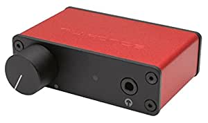 Optoma NuForce uDAC3 Mobile USB DAC and Headphone Amplifier (Red)