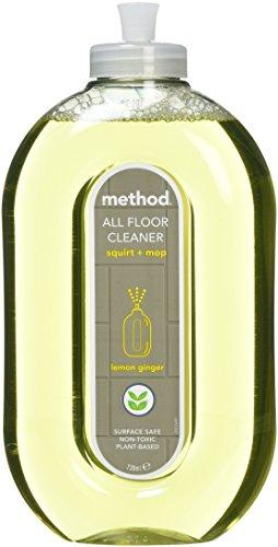 Method Squirt + Mop All Floor Cleaner, Lemon Ginger, 25 - Floor Cleaner Method Hardwood
