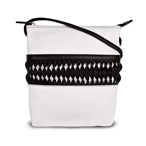 Black Cross Leather Let's 6631 White ili body Twist xYRwTFWAq