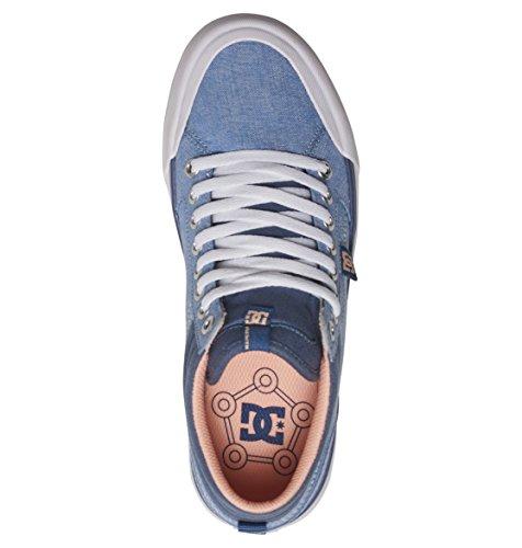 Shoes Adjs300164 Dc Se Denim Montantes Hi Femme Chaussures Evan Tx Pour Bleu 4qFrqUzd