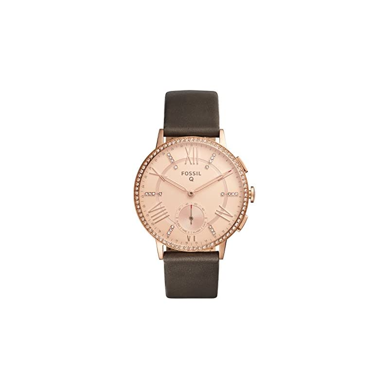 Fossil Q Gazer Leather Hybrid Smartwatch
