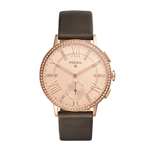 Fossil Hybrid Smartwatch - Q Gazer Gray Leather