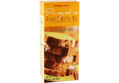 Trader Joe's Pumpkin Bread & Muffin Mix (17.5 oz) 496 g