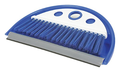 Price comparison product image Camco 43945 Dust Pan with Whisk