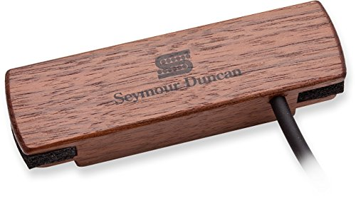 Woody Custom Guitars (Seymour Duncan SA-3HC Hum-Canceling Walnut Acoustic Soundhole Pickup 11500-31-WLN w/Bonus RIS Picks (x3) 800315039609)