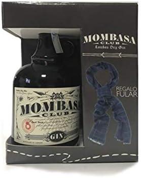 Mom Ginebra Club Pack (1 u + Fular) - 750 ml: Amazon.es ...
