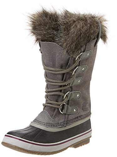 (Sorel Women's Joan Of Arctic Boot,Quarry / Black,9 B(M))