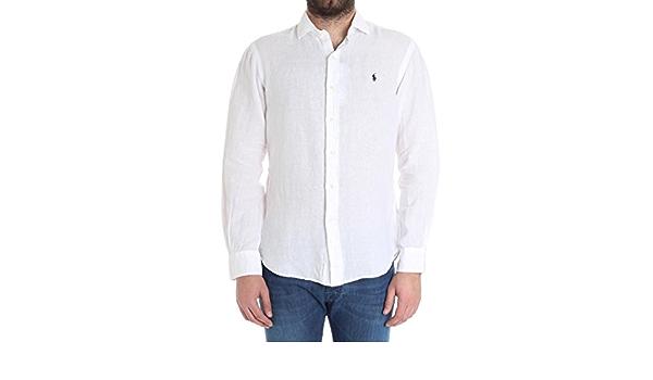 Ralph Lauren - Camisa casual - para hombre blanco Tallas De ...