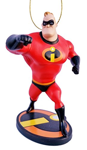 Mr. Incredible from Incredibles 2 Figurine Holiday Christmas Tree Ornament - Limited Availability - New for 2018