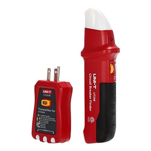 UNI-T Automatic Circuit Breaker Finder Socket Tester with LED Indicator NCV Indication UT25B