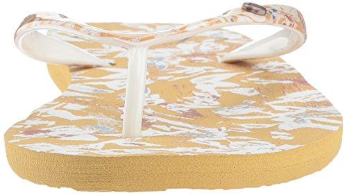 Roxy Portofino Mustard Flip Women's Flop r8qwqYxC5