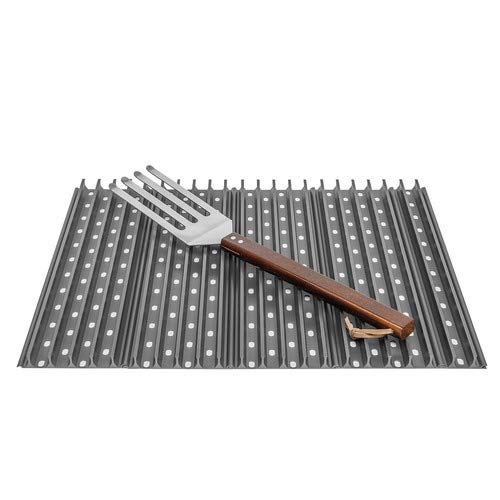 Replacement Grill Grates for Weber Spirit 310 Series and Genesis Silver B with GrateTool (Series Simpson Pro)