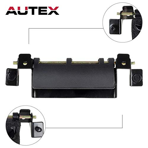 AUTEX Tailgate Handle Liftgate Rear Latch Hatch Metal Door Handle Compatible with Toyota Sequoia Exterior Tailgate Handle 2001-2007 Replacement for Toyota Sienna Tailgate Handle 1998-2003 - Tailgate Handle Rear Hatch