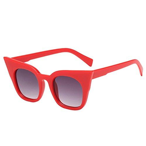 Lunettes De Rondes D Womens RéTro Vintage Lunettes Eyewear Soleil Homme Rappeur Unisexe Cat Eye rxrw4adq