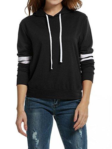 Zeagoo Pullover Hoodie Striped Sweatshirt product image