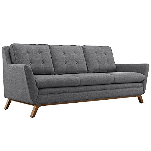 Beguile Fabric Sofa, Gray