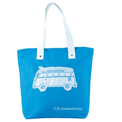 Bag Camper Shopper Canvas Green Van Vw Blue qBwzZIw
