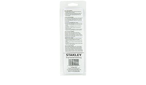 Amazon.com : OKSLO Helicoil 5544-12 12-1.5 Metric Fine Kit : Garden & Outdoor