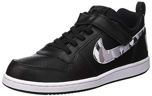 Scarpe color white Nike Da Multicolore pure 005 Bambino Low Platinum Basket Borough multi Court psv black 6UqUPFI