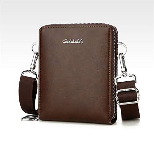 Affaire Mature Vintage Tablette Porte Hommes Besace Loisirs Grand Bags Shoulder Cuir Marron Sac En Document Sacoche Meceo Simple EgqXSX
