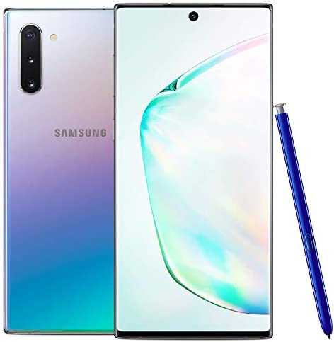 Samsung Galaxy Note 10, 256GB, Aura Glow - Fully Unlocked (Renewed) WeeklyReviewer