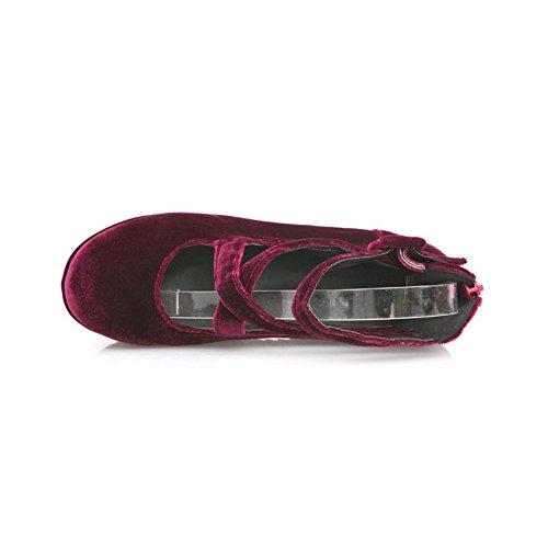 On Pull Claret BalaMasa Womes Shoes High Pumps Heels Solid EqxgC5
